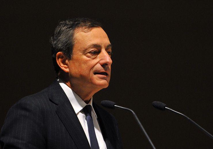 """Draghi: """"La crisi dell'Eurozona è superata, ripresa resistente e sempre più ampia"""""""