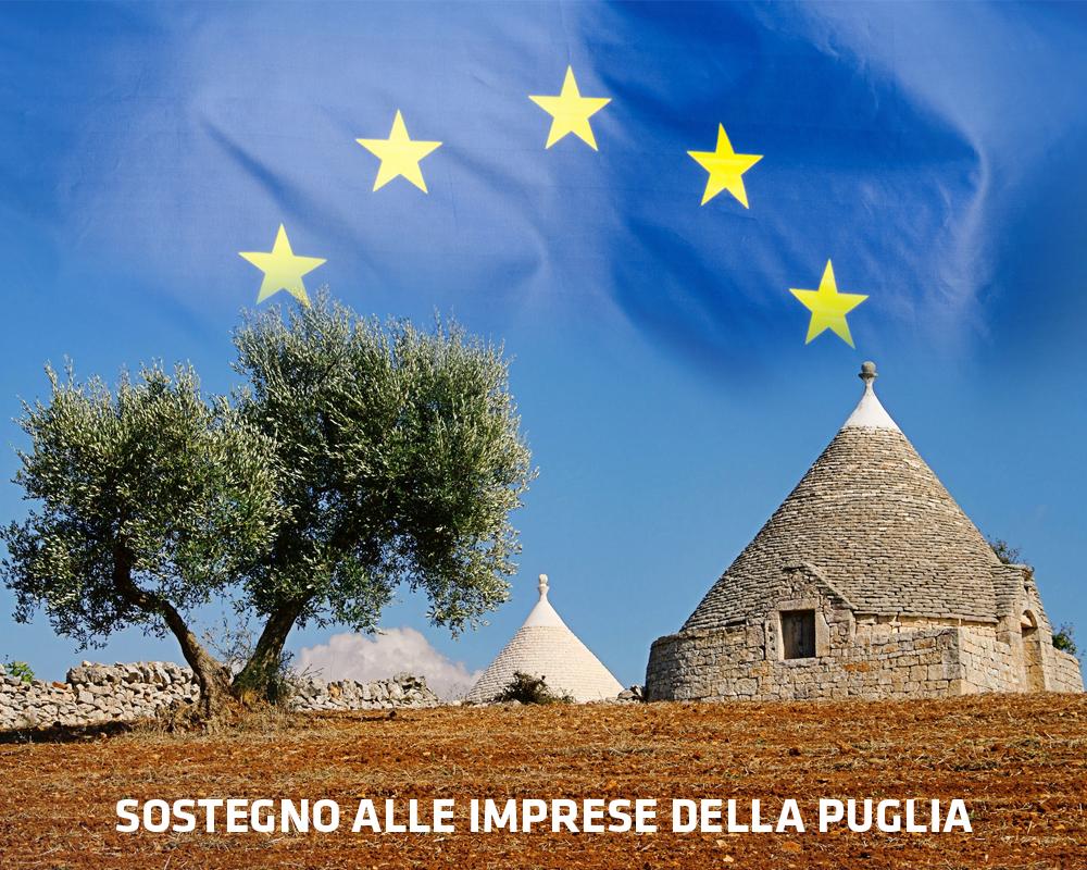Sostegno alle imprese e ai liberi professionisti della Puglia
